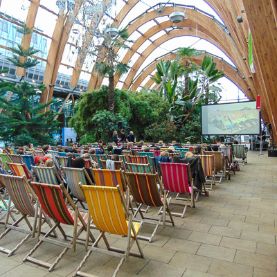 Events - Foodie Cinema at The Sheffield Winter Garden